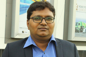 Yogesh Somvanshi, Delivery Manager of Lonar Technology